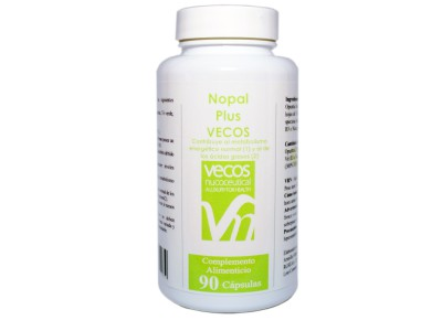 Nopal Plus Vecos 90 cápsulas