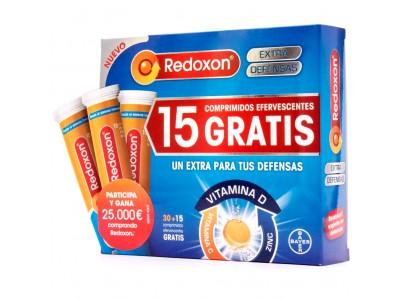 Redoxon Doble Acción 30 Comprimidos +15 comprimidos gratis