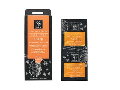 Apivita Express Beauty Mascarilla Hidratante con Miel 2uds 8ml