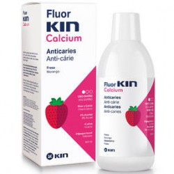 Fluor Kin Calcium Enjuague Bucal 500ml