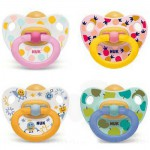 Nuk Happy Kids Chupete Látex 6-18 meses 2 uds