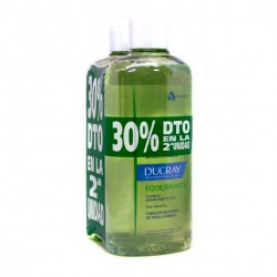 Ducray Champú Equilibrante 2 uds. 400ml+400ml