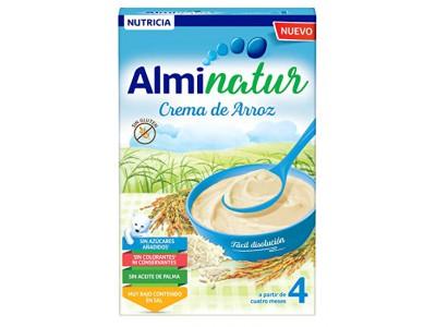 Alminatur Crema de arroz 250 gramos