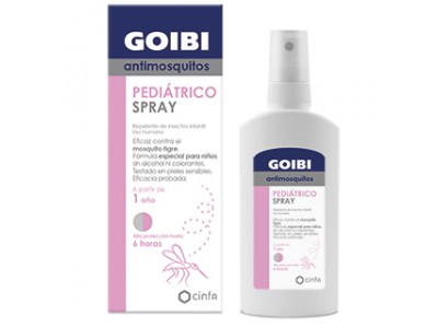 Goibi Loción Spray Antimosquitos Infantil 100ml