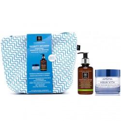Apivita Pack Beeauty Infusion Aqua Vita Crema Hidratante 50ml+Limpiador purificante 200ml