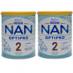 Nan 2 Optipro 800g Pack Ahorro 2 uds.