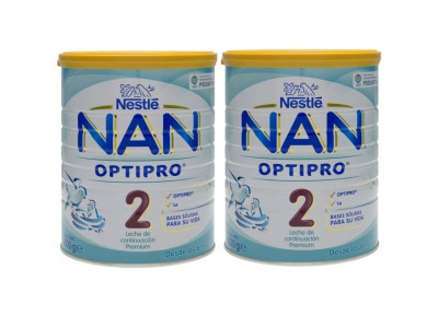 Nan 2 Optipro 800g Pack Ahorro 2 uds.