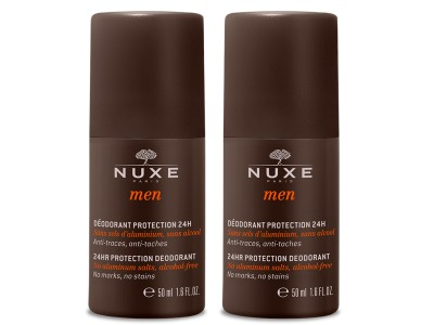 Nuxe Men Duplo Desodorante 24h antimanchas 50ml+50ml