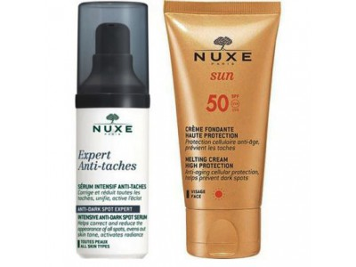 Nuxe Kit Expert Serum antimanchas 30ML + Nuxe Sun Crema Fundente Rostro SPF50+ 50ML