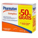 Pharmaton Complex 60 Cápsulas Blandas+30 Cápsulas de Regalo