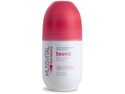 Mussvital Dermactive Desodorante Teens 75ml