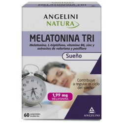 Angelini Melatonina Tri 60 Comp