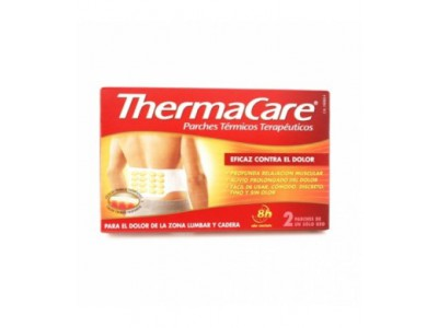 Thermacare Zona Lumbar y Cadera 2 Parches