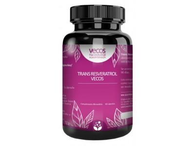 Trans-Resveratrol Vecos 60 Cápsulas