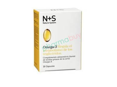 N + S Omega 3 30 Cápsulas