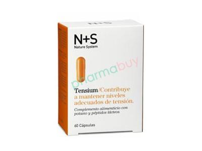 N + S Tensium 60 Cápsulas