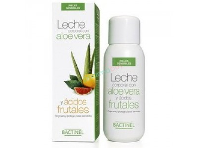 Bactinel Leche Corporal Aloe Ac. Frutal 300ml