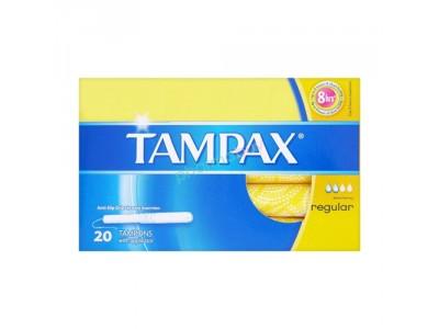 Tampax Tampón Regular 20 uds.