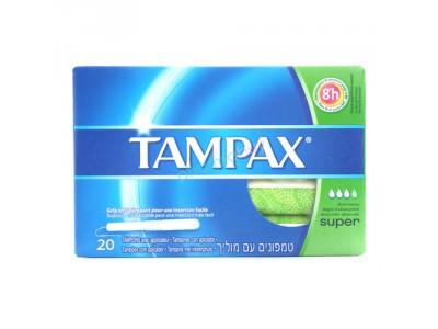 Tampax Tampón Super 20 uds.