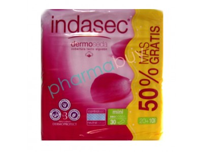 Indasec Mini 20 + 10 uds.