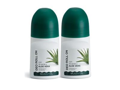 Pack Mussvital Desodorante Aloe Vera 2 uds.