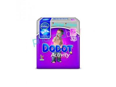 Pañal Dodot Activity T. 5 de 13-18kg 32 uds.