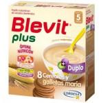 BLEVIT PLUS DUPLO 8 CEREALES Y GALLETAS 600 G.