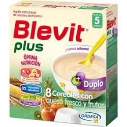 Blevit Plus Duplo 8 Cereales con Queso Fresco y Fruta 600g