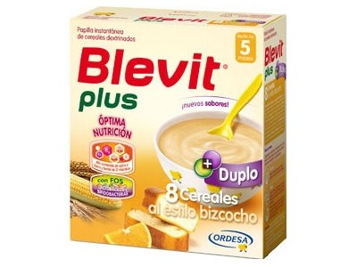 Blevit Plus Duplo 8 Cereales al Estilo Bizcocho 600g