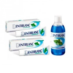 Dentiblanc Extrafresh 100ml 2uds. + Colutorio Extrafresh
