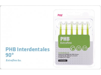 Cepillo Interdental PHB 90 Grados Extrafino