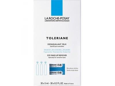 La Roche-Posay Toleraine Desmquillante Ojos 30 Monodosis