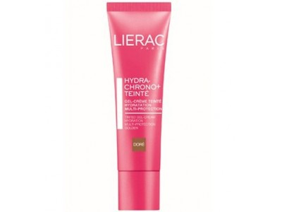 Lierac Hydra Chrono Gel Crema Color Dorado