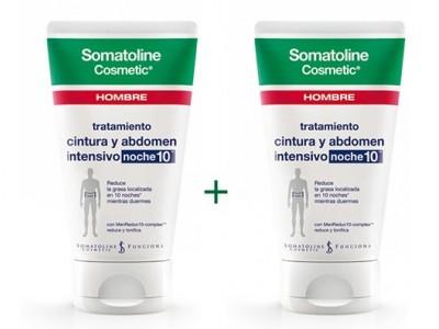 Somatoline Cosmetic Cintura Abdomen Intensivo Noche 2x150ml