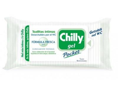 Chilly Gel Pocket Toallita Íntima F. Fresca 12 uds.