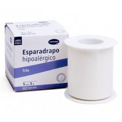 Hartman Esparadrapo Hipoalérgico Tela Blanc 5cmx5m