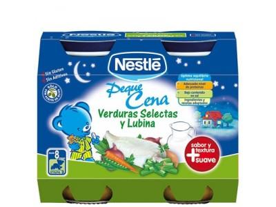 Nestlé Cena Verduras Selectas y Lubina 2x200g