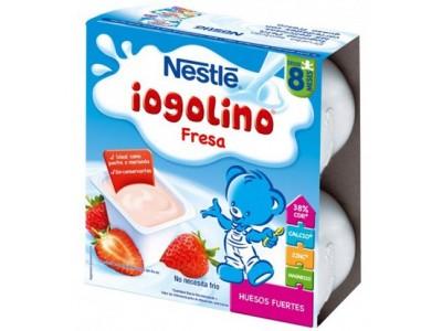 Nestlé Yogurt Iogolino Fresa 4 x 100g