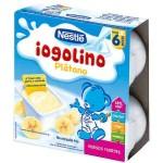 NESTLÉ YOGURT IOGOLINO PLÁTANO 4 X 100 GR