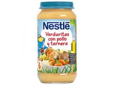Nestlé Potito Verduras con Pollo y Ternera 250g
