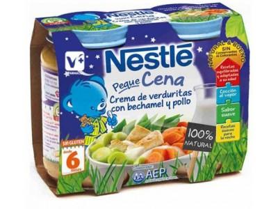 Nestlé Cena Verduras con Bechamel Pollo 2x200g