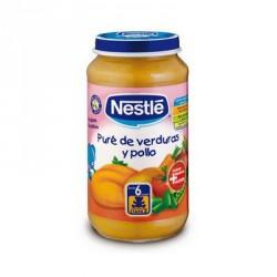 Nestlé Potito Puré de Verduras y Pollo 250g