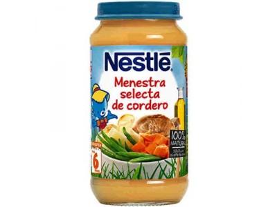 Nestlé Potito Menestra de Cordero 250g