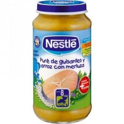Nestlé Potito Guisantes Arroz Merluza 250g
