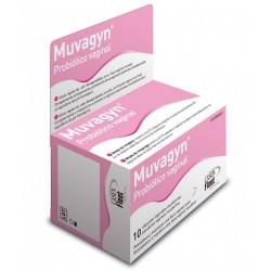 Muvagyn Probiótico Vaginal 10 Cápsulas Vaginales