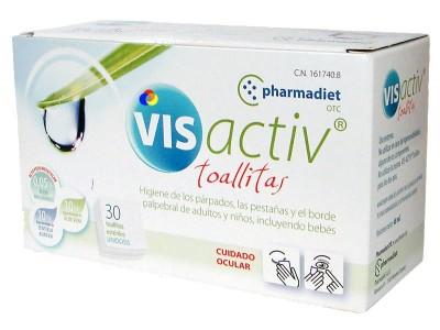 Pharmadiet Vis Activ Toallitas 30 uds.