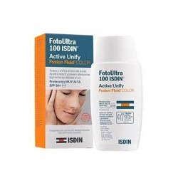 ISDIN FOTOPROTECTOR ACTIVE UNIFY FUSION FLUID CON COLOR SPF50 50ML