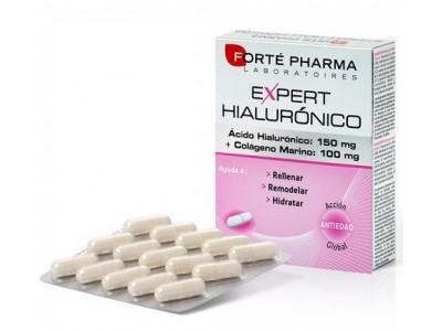 Expert Ácido Hialurónico + Colágeno 30 Cápsulas