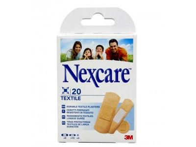 3M Tiritas Nexcare Textile 20 uds. Surtidas