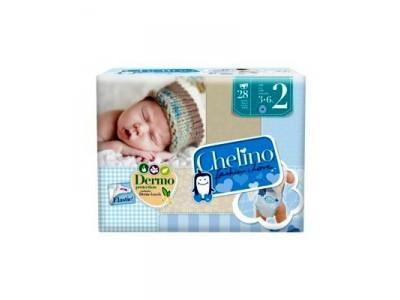 Pañal Infantil Chelino Fashion & Love T2 3-6kg 28 uds.